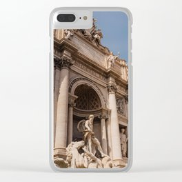 Trevi Fountain IV Clear iPhone Case
