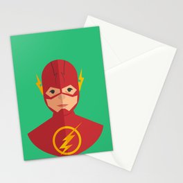 flat for flash Stationery Cards