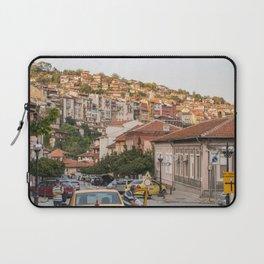 Sunset on Veliko Tarnovo Old Town Laptop Sleeve
