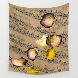 Beautiful Old Music Wall Tapestry