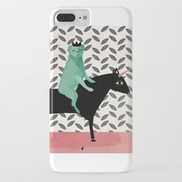dog king, welcome to internet, meh! iPhone Case