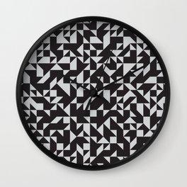 Girard Inspired Geometric Pattern Wall Clock