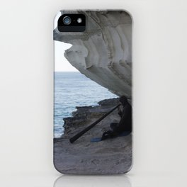 Finding Peace with Music iPhone Case