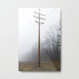 Telephone pole Metal Print