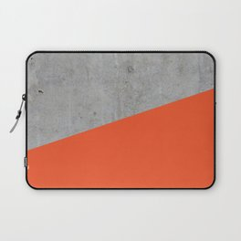 Concrete and Flame Color Laptop Sleeve
