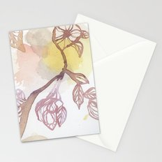 Watercolor Two Stationery Cards