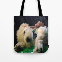 Nap Time for Baby Tote Bag