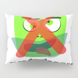 Protection mask on pandemic Pillow Sham
