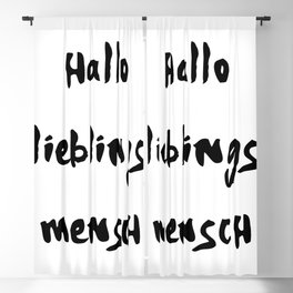 HALLO LIEBLINGSMENSCH NAMIKA MUSIK LYRIC TEXT Blackout Curtain
