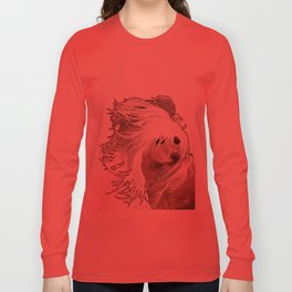 Chinese Crested  Long Sleeve T-shirt