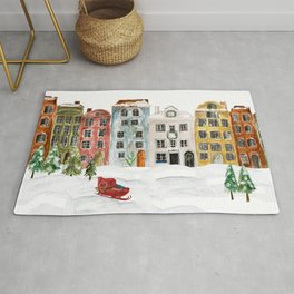 Christmas in the Village Rug