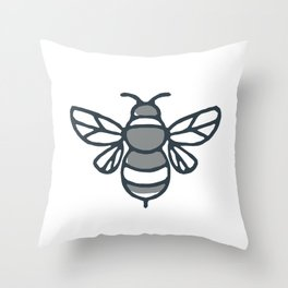 Bumblebee Bee Icon Throw Pillow
