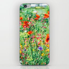 The Wild Flowers (Color) iPhone Skin