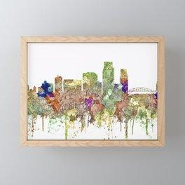 Corpus, Christie, Texas SG - Faded Glory Framed Mini Art Print