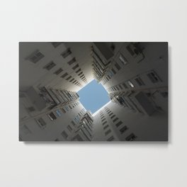 The Hole Metal Print