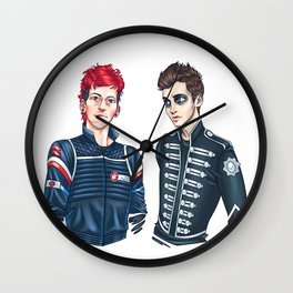 My Chemical Pilots Wall Clock