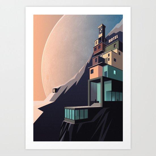 Interplanetary arrivals Art Print