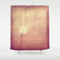 coconut wishes Shower Curtains featuring Wishes  by Zierrat
