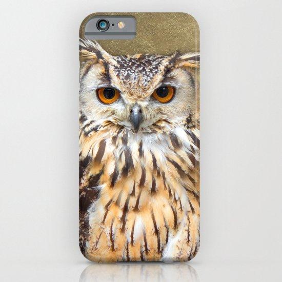 Indian Eagle Owl iPhone & iPod Case