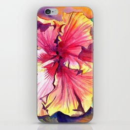 Tropical Hibiscus 13 iPhone Skin