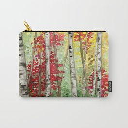 Fall Woods Carry-All Pouch