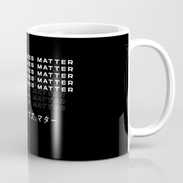 BlackLivesMatter (Eng&Katakana) Coffee Mug