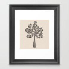 UPC Tree Framed Art Print