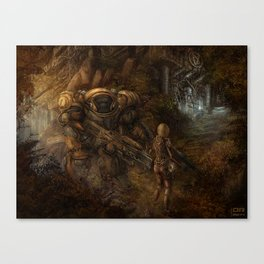 Chance Encounter with the 9th Order of Beelzebub Canvas Print