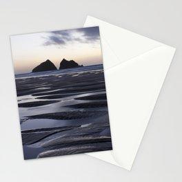 Gull Rock, Holywell Bay, Cornwall, England, United Kingdom Stationery Cards