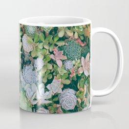 Beautiful winter flowers garden Coffee Mug