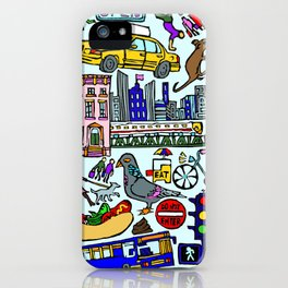 City In Color iPhone Case