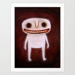 Smily Ghost Art Print