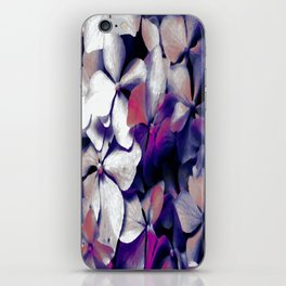 Pewter Petals iPhone Skin