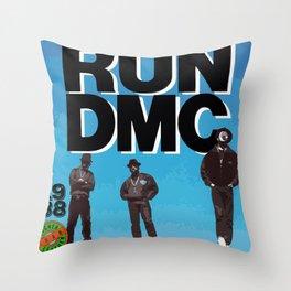 RUN-DMC-1988 Throw Pillow