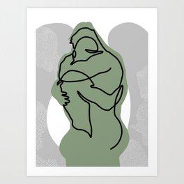 NOODDOOD Lines 15 Art Print