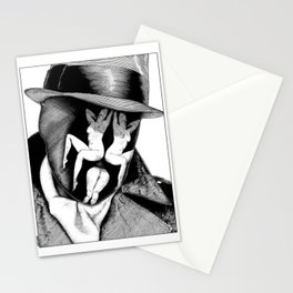 asc 747 - Le Rorschach (You are what you see) Stationery Cards