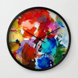 pretty pallette Wall Clock