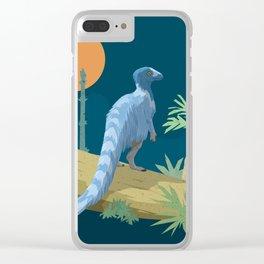 Eoraptor lunensis Clear iPhone Case