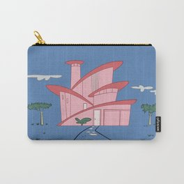 Pink Panther's Modern House Carry-All Pouch