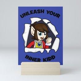 Unleash Your Inner Kidd - Alex Kidd Mini Art Print