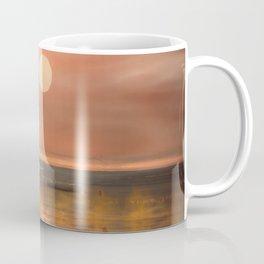 Boats in the fog Coffee Mug