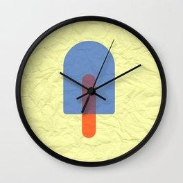 Bluesicle Wall Clock
