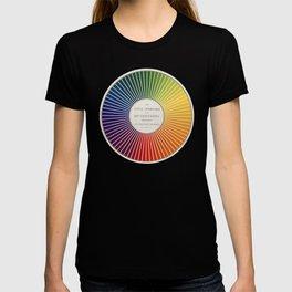 Chevreul Cercle Chromatique, 1861 Remake, renewed version T-shirt