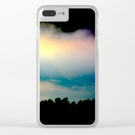 Strip of Day Clear iPhone Case
