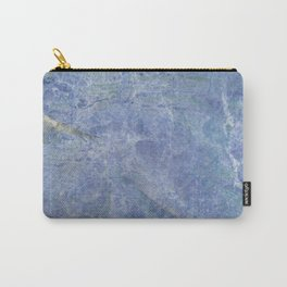 Magical Stone Blue Marble Carry-All Pouch