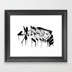 graffiti - AR3 Framed Art Print