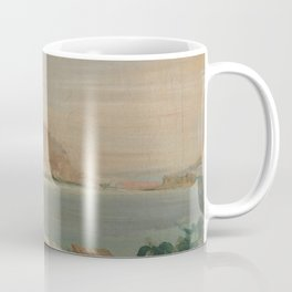 Promenade beside the Sea Coffee Mug