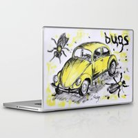 bugs Laptop & iPad Skins featuring bugs by sladja