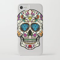 mexican iPhone & iPod Cases featuring Mexican Skull by Pancho the Macho