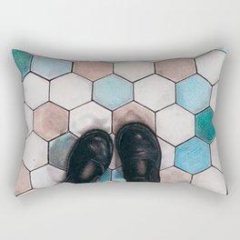 Art Beneath Our Feet - Haarlem Rectangular Pillow